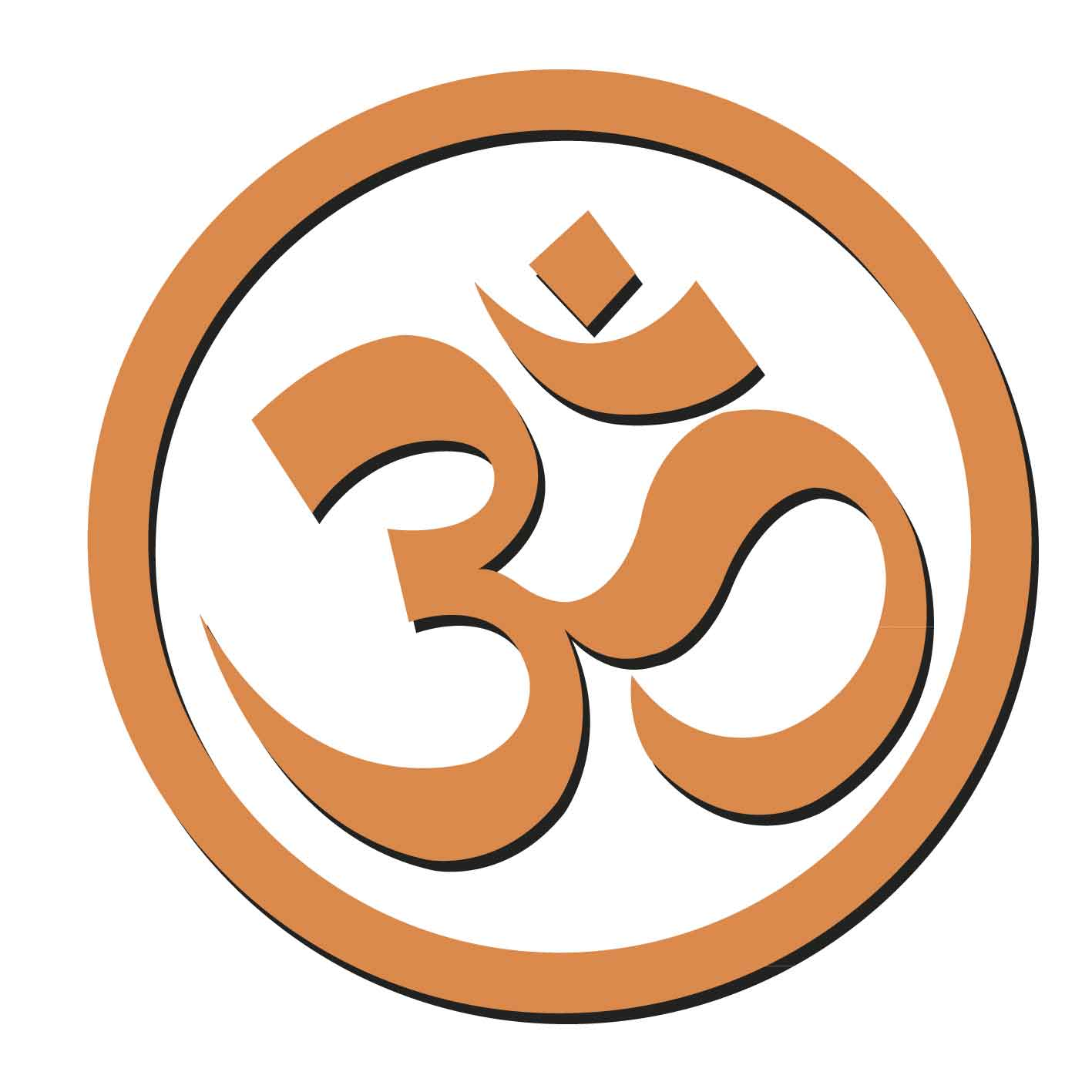 Om is a syllable, which applies to Hindus, Jains and Buddhists as sacred.