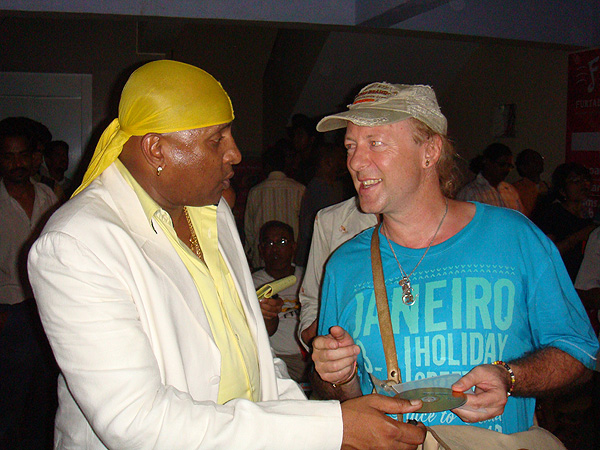 Meet & Greet with the fantastic Sivamani